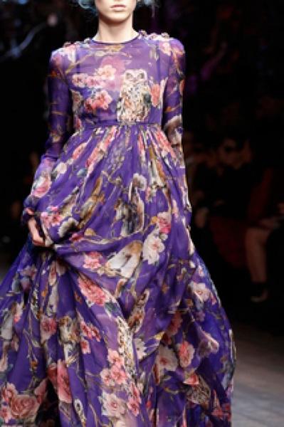 Платье из шелка дольче