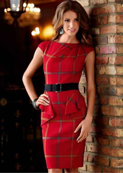 Платье красное asos