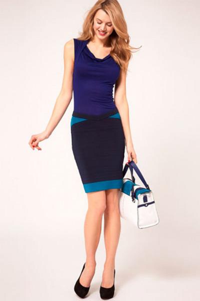 Синие платья карен миллен