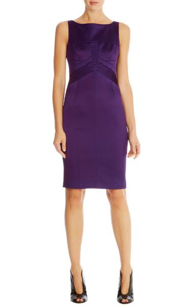 66cc6b6080e Фиолетовое платье-футляр из атласа Asos - на сайте Odry-style.ru