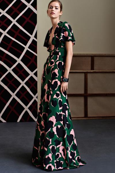 Гуччи длинное платье