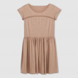 Платье ажурное с расклешенной юбкой