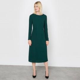 Платье длинное из крепа