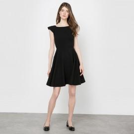 Платье короткое, вырез сзади