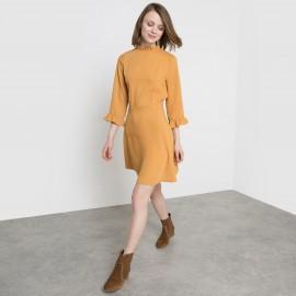 Платье с гофрированным эффектом