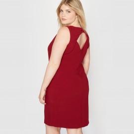 Платье без рукавов, отделка в виде банта сзади