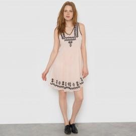 Платье без рукавов с вышивкой VIETHEREA