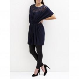 Платье с короткими рукавами и вышивкой, VILA VIBODOIR TUNIC