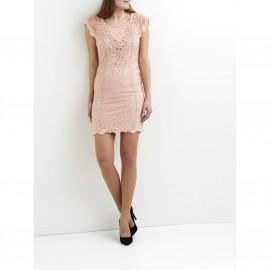 Платье кружевное с короткими рукавами, VILA VIMIALY DRESS
