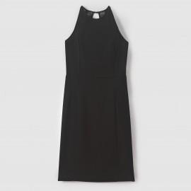 Платье из кружева без рукавов, открытая спинка