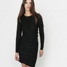 Платье с длинными рукавами, 100% биошерсти