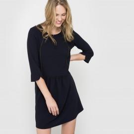 Платье из струящегося крепа