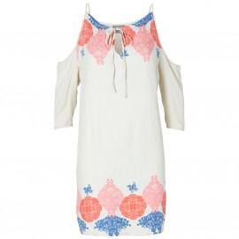 Платье Lacy с открытыми плечами