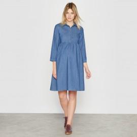 Платье из денима для периода беременности