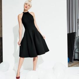 Платье с американской проймой рукавов