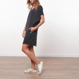 Платье из тенселя с бахромой