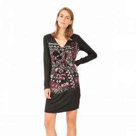 Платье с запахом Vest Azahara