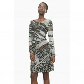 Платье облегающее с принтом, Vest Rosaura