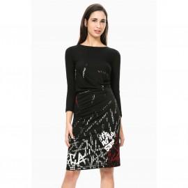 Платье прямое с длинными рукавами, Vest Castalia