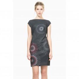 Платье без рукавов, облегающее, Vest Pichi Grey