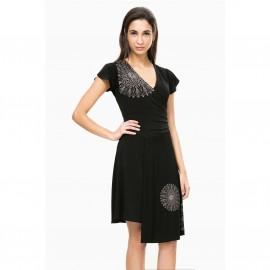 Платье с короткими рукавами, Vest Luisa
