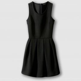 Платье без рукавов с плиссировкой RELZA