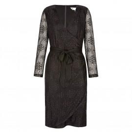 Платье кружевное с запахом Ubad