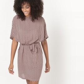 Платье струящееся с принтом JUNLY DRESS