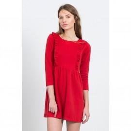 Короткое расклешённое платье SYDNEY BLACK DRESS