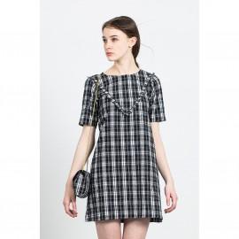 Платье короткое BINGO DRESS