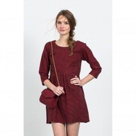 Платье с короткими рукавами CLUEDO DRESS
