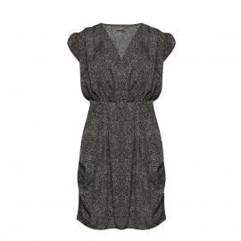 Платье из струящейся ткани с короткими рукавами BRUCE