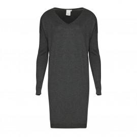 Платье из тонкого трикотажа с V-образным вырезом MAFA DR 5