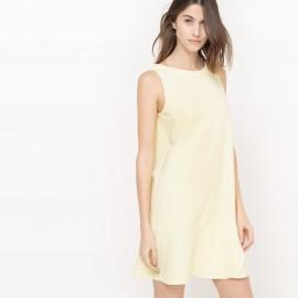 Платье короткое однотонное без рукавов