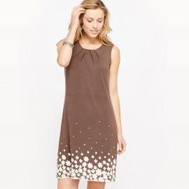 Платье из мягкого трикотажа