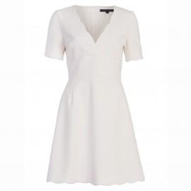 Платье с короткими рукавами и V-образным вырезом, SUNDAE SUITING