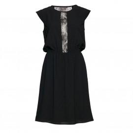 Платье без рукавов с кружевной отделкой CABINA
