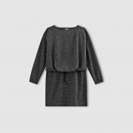 Платье меланж с длинными рукавами, VMNORA