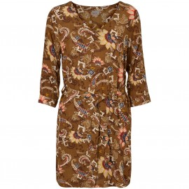 Платье короткое с принтом Norma