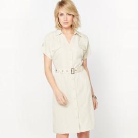 Платье струящееся из бархатистой микрофибры