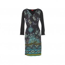 Платье Saloon из трикотажа с принтом