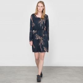 Платье с принтом Vileafa