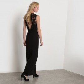 Платье длинное из кружева