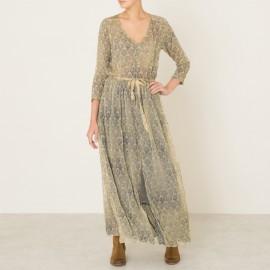 Платье длинное FOUGERE