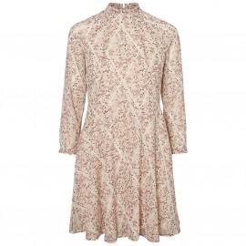 Платье из вуали с принтом Harly Flower