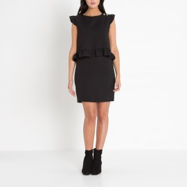 Платье без рукавов с воланами DARIA DARIA