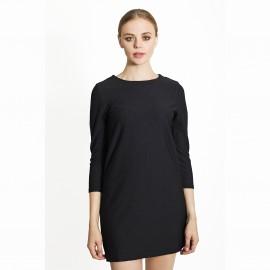 Платье короткое декольтированное сзади