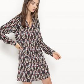 Платье из тонкой ткани с рисунком Calliste