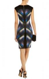 Синее платье-футляр с абстрактным принтом Asos