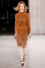 Дизайнерское платье с длинным рукавом Bottega Veneta